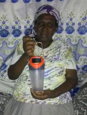 Safety - Solar Lamps for homes without electricity